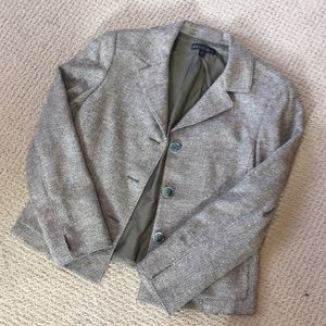 LAFAYETTE 148 NEW YORK Twill Blazer with pockets